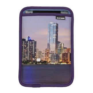 USA, Florida, Miami skyline at dusk 2 iPad Mini Sleeve