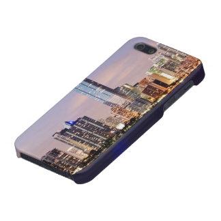 USA, Florida, Miami skyline at dusk 2 iPhone 5/5S Cover