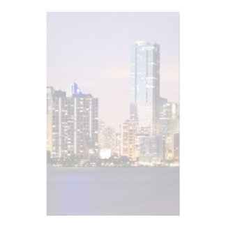 USA, Florida, Miami skyline at dusk 2 Personalised Stationery