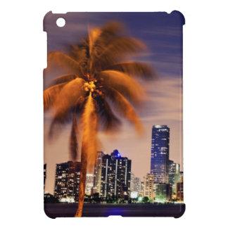 USA, Florida, Miami skyline at dusk Cover For The iPad Mini