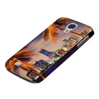 USA, Florida, Miami skyline at dusk Galaxy S4 Case