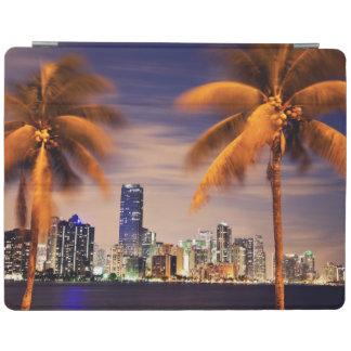 USA, Florida, Miami skyline at dusk iPad Cover