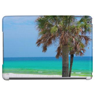 USA, Florida. Palm Trees On Emerald Coast