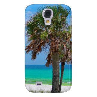 USA, Florida. Palm Trees On Emerald Coast Galaxy S4 Case