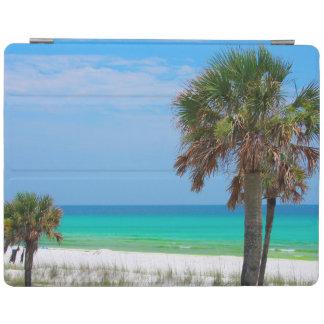 USA, Florida. Palm Trees On Emerald Coast iPad Cover