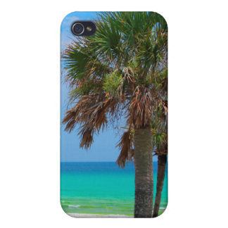 USA, Florida. Palm Trees On Emerald Coast iPhone 4/4S Cover