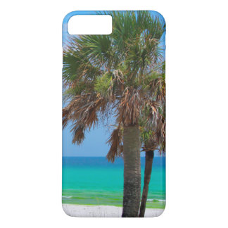USA, Florida. Palm Trees On Emerald Coast iPhone 8 Plus/7 Plus Case