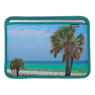 USA, Florida. Palm Trees On Emerald Coast Sleeve For MacBook Air