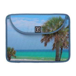 USA, Florida. Palm Trees On Emerald Coast Sleeve For MacBooks