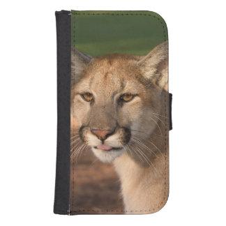 USA, Florida panther (Felis concolor) is also Samsung S4 Wallet Case
