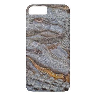 USA, Florida, St. Augustine, Alligators 2 iPhone 8 Plus/7 Plus Case