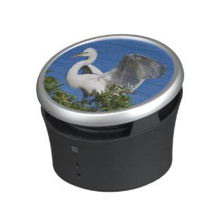 USA, Florida, St. Augustine, Egret Bluetooth Speaker