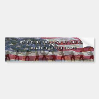 USA FREEDOM COSTS BUMPER STICKER INSPIRATION