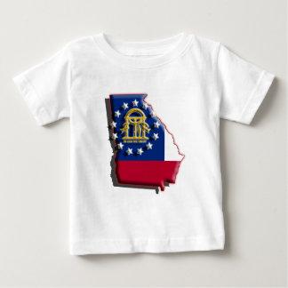 USA: Georgia (3d) Baby T-Shirt