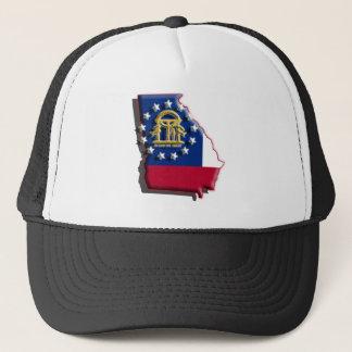 USA: Georgia (3d) Trucker Hat