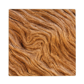 USA, Georgia, Jekyll Island, Abstract Wood Coaster