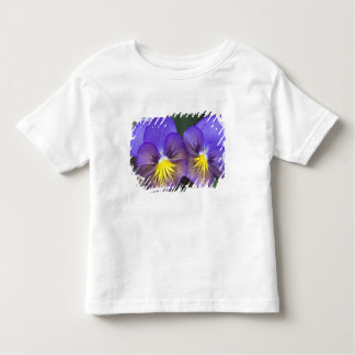 USA, Georgia, Pine Mountain. A closeup of pansy Toddler T-Shirt