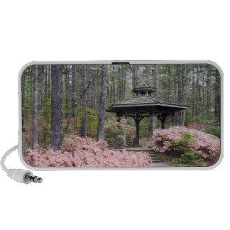 USA, Georgia, Pine Mountain. A gazebo amongst Travelling Speakers