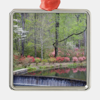 USA, Georgia, Pine Mountain. A small waterfall Christmas Ornament