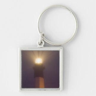 USA; Georgia; Savannah.  Tybee Island Lighthouse Key Ring