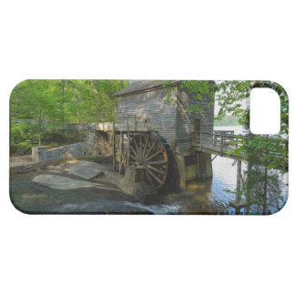 USA, Georgia, Stone Mountain, Watermill in trees iPhone 5 Cases