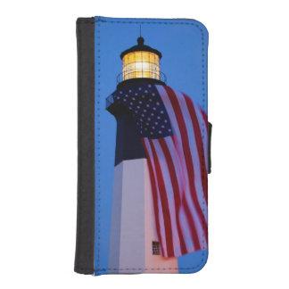 USA, Georgia, Tybee Island, Flag Flying 2