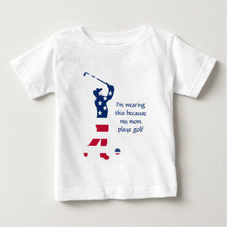 USA golf American golfer Baby T-Shirt