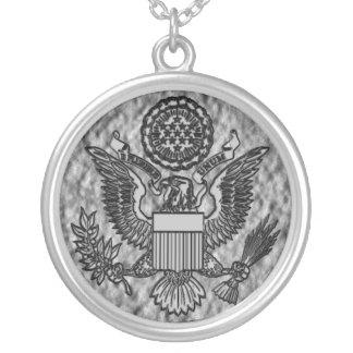 USA Great Seal Eagle Pendant