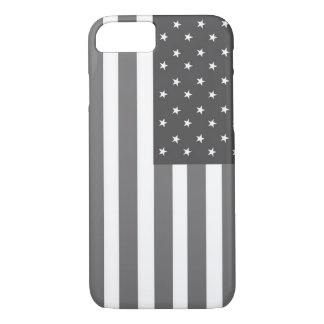 USA grey/white color iPhone 7 case
