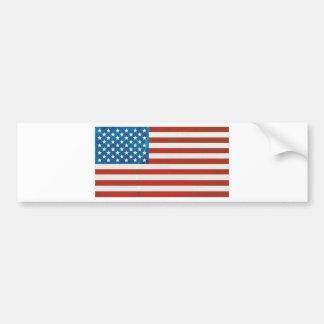 USA grunge flag Bumper Sticker