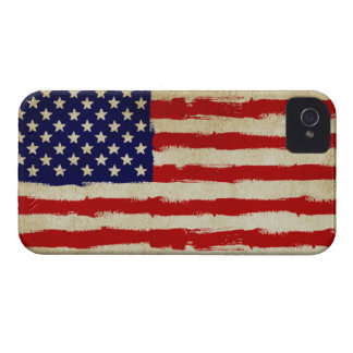 USA Grunge Flag iPhone 4 Cover