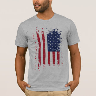 USA Grunge Flag T-Shirt