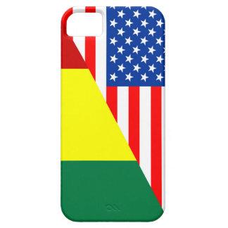 usa guinea country half flag america symbol iPhone 5 cover