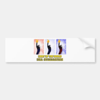 USA Gymnastics - Light Up The World Bumper Sticker