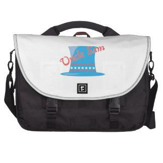 USA Hat Uncle Sam Laptop Computer Bag