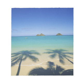 USA, Hawaii, Kailua. Lanikai Beach. 2 Notepad