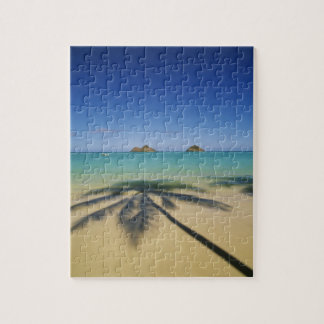 USA, Hawaii, Kailua. Lanikai Beach. Jigsaw Puzzle
