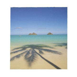 USA, Hawaii, Kailua. Lanikai Beach. Notepad