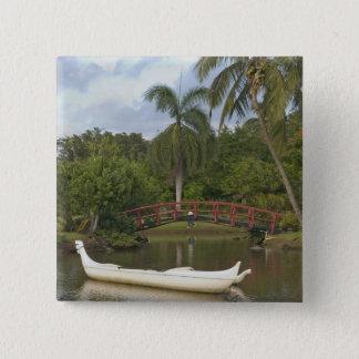 USA, Hawaii, Kauai, Smith Family Luau Garden 15 Cm Square Badge