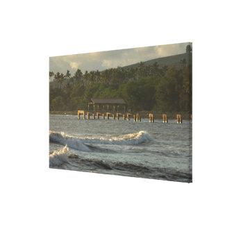 USA, Hawaii, Kauai, southwest coast, near Canvas Print