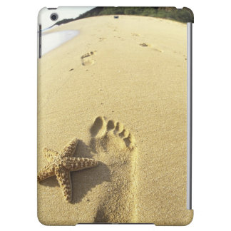 USA, Hawaii, Maui, Makena Beach, Footprint and