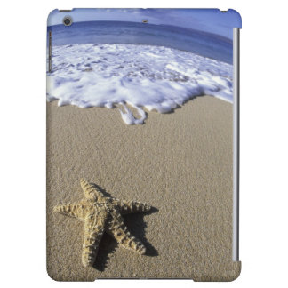 USA, Hawaii, Maui, Makena Beach, Starfish and iPad Air Cover