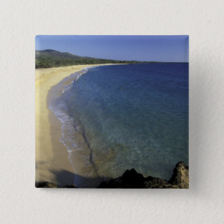 USA, Hawaii, Maui, Maui, Makena Beach, 15 Cm Square Badge