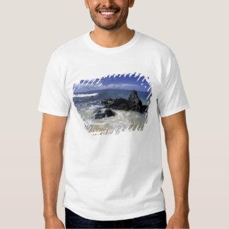 USA, Hawaii, Maui, Maui, Makena Beach, Surf on T-shirts