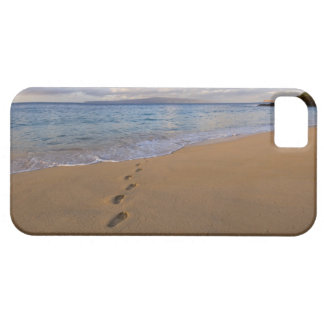 USA, Hawaii, Maui, Wailea, footprints on beach 2 Barely There iPhone 5 Case