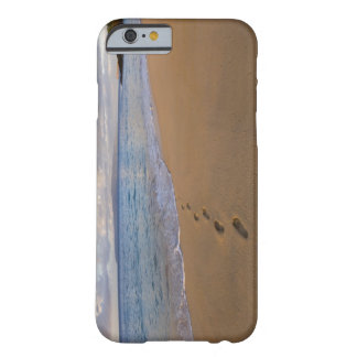 USA, Hawaii, Maui, Wailea, footprints on beach 2 Barely There iPhone 6 Case