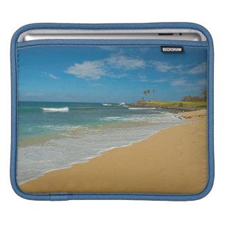 USA, Hawaii, Molokai Island, Three Mile Beach iPad Sleeve