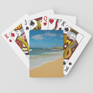 USA, Hawaii, Molokai Island, Three Mile Beach Playing Cards