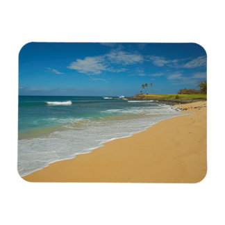 USA, Hawaii, Molokai Island, Three Mile Beach Rectangular Photo Magnet