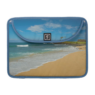 USA, Hawaii, Molokai Island, Three Mile Beach Sleeve For MacBook Pro